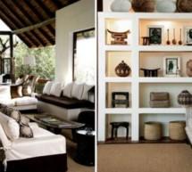 Design interior:  Inspiratie africana